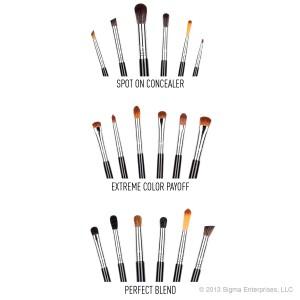 Sigma Beauty Advanced Artistry Brush Kit