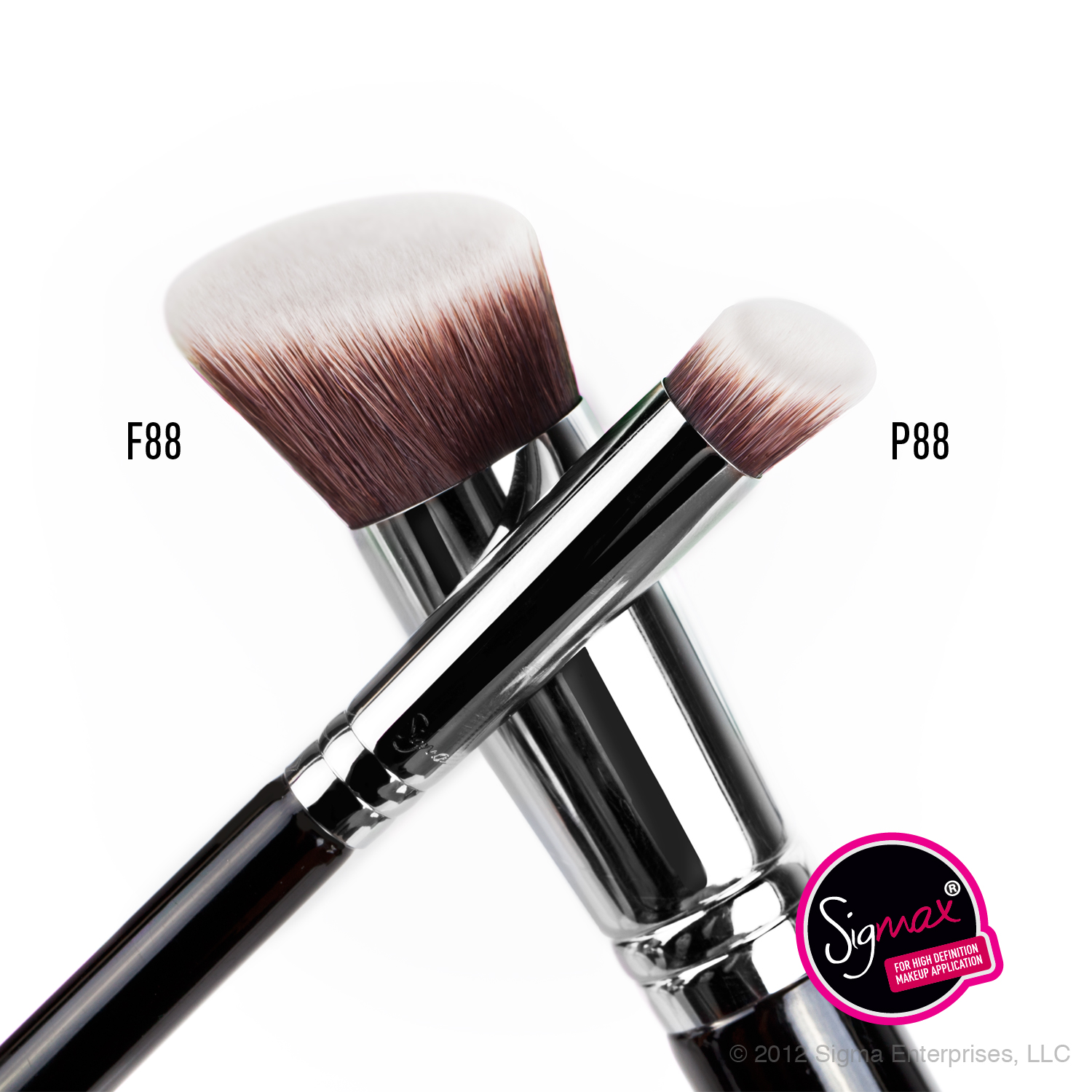 Sigma Beauty F88 and P88 brushes