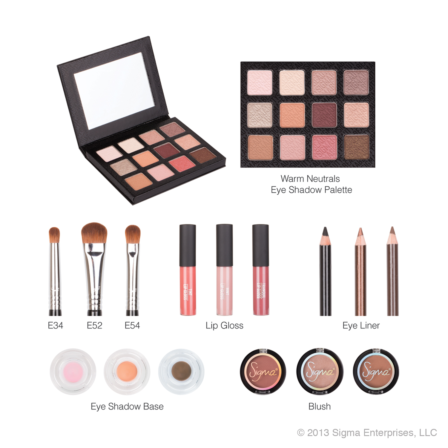 Sigma Beauty Enlighten Collection
